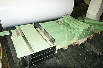 Konstruktion, Fertigung und Montage diverser Stuhlungsteile